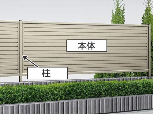 フェンスの構造
