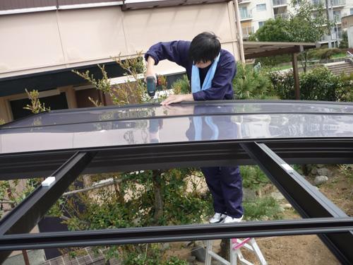 5.屋根パネル・雨樋の取付