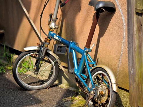 自転車のサビや劣化を軽減