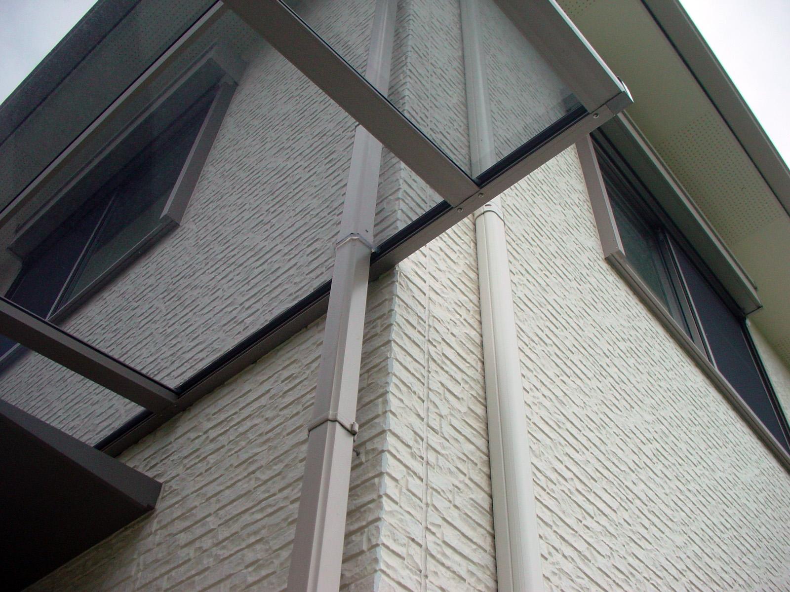 建物樋・エアコンダクトなどの干渉