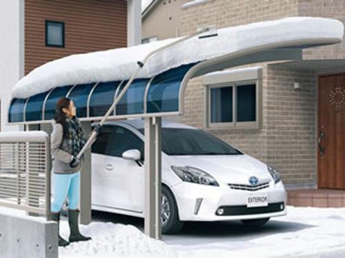 積雪時の対処方法